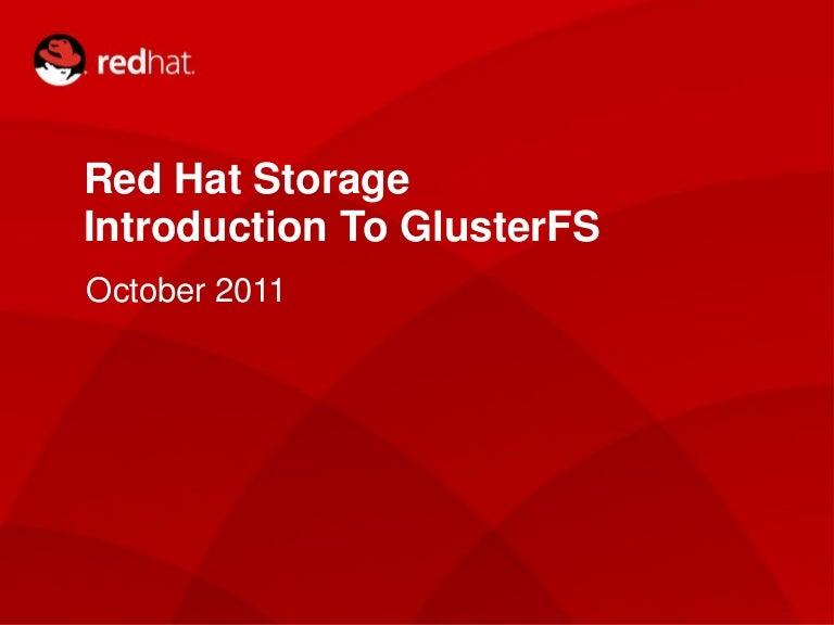 gluster storage software appliance