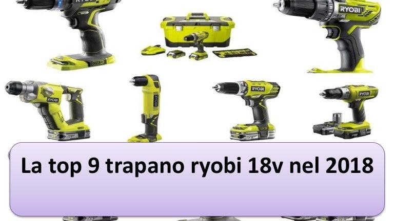 RYOBI Trapano Avvitatore 18 Volt Cordless