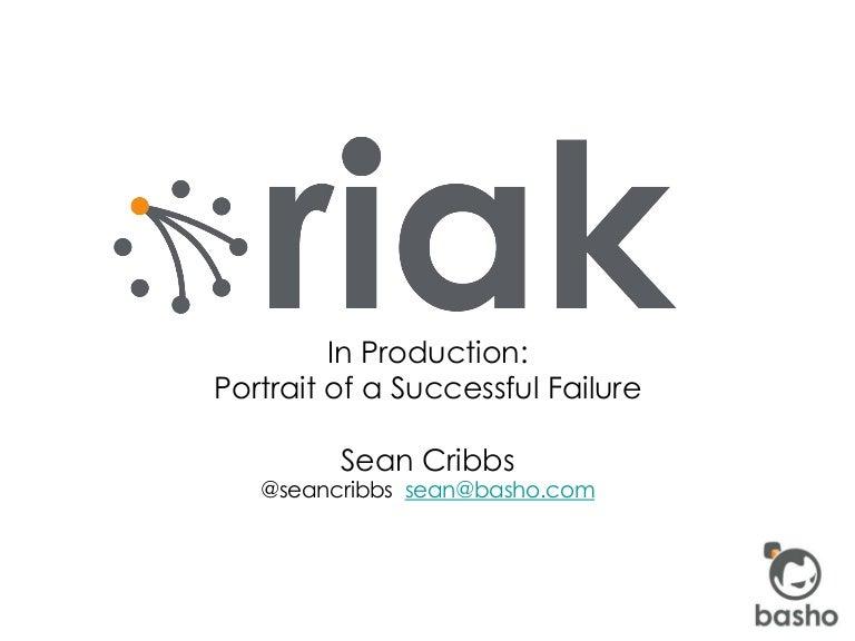 Riak a successful failure