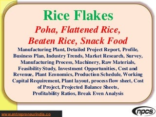Business Plan Case Study for Food Manufacturers