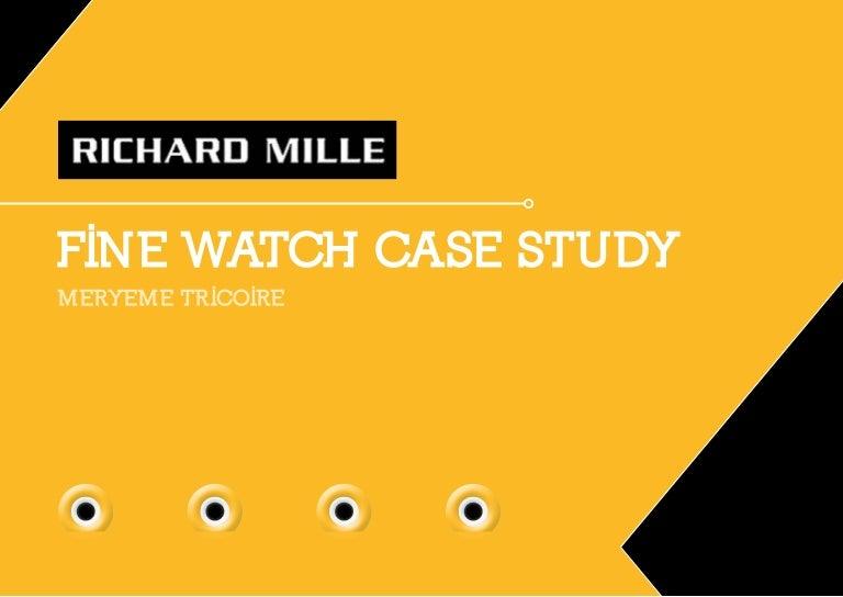 5893a8e68db Richard Mille case study