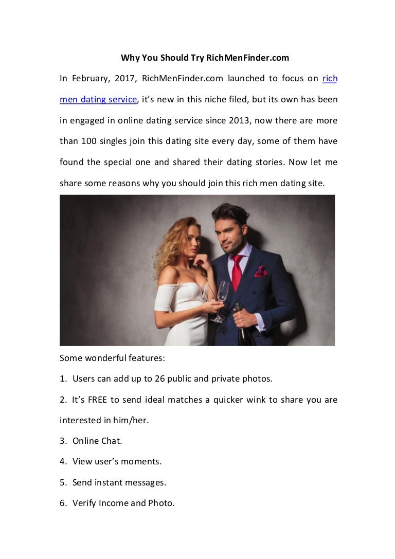 rich dating service