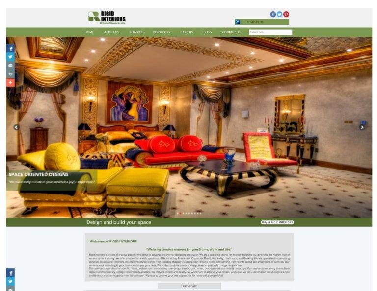Rigid Interiors Company Profile Download Pdf