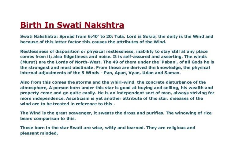 The 27 nakshatras