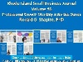 Rhode Island Small Business Journal (RISBJ) 2017 Articles by Ronald G. Shapiro, Ph. D.