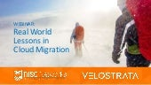 Risc and velostrata  2 28 2018 lessons_in_cloud_migration