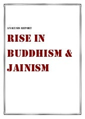 Rise in buddhism and jainism