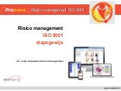 Risico management  ISO 9001:2015, voorbeeld - software tool ISO 9001