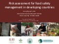 Risk assessment for food safety