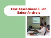 Risk Assessment and Job Safety Analysis