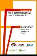 Risk competitiveness and sustainability - programme