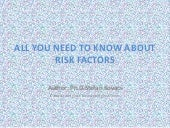 All you need to know about risk factors