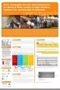 Risk management and communication in informal dairy sector in Côte d'Ivoire: Options for sustainable livelihoods