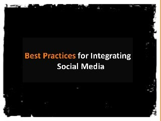 Best Practices for Integrating Social Media into Your WordPress Site