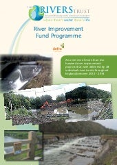River improvement fund pdf report.