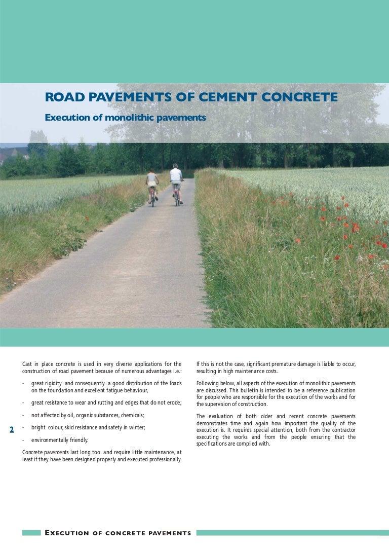 Cement, concrete - a little about the important 61