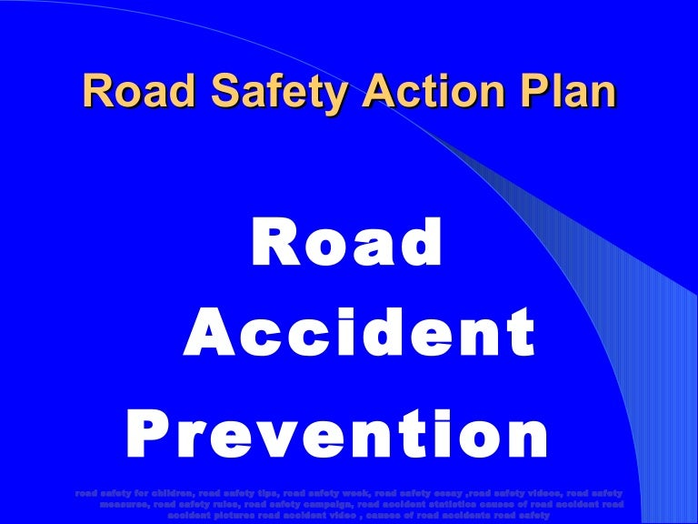 road accident prevention powerpoint presentation photos