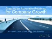 Creating an Actionable Roadmap for Company Growth