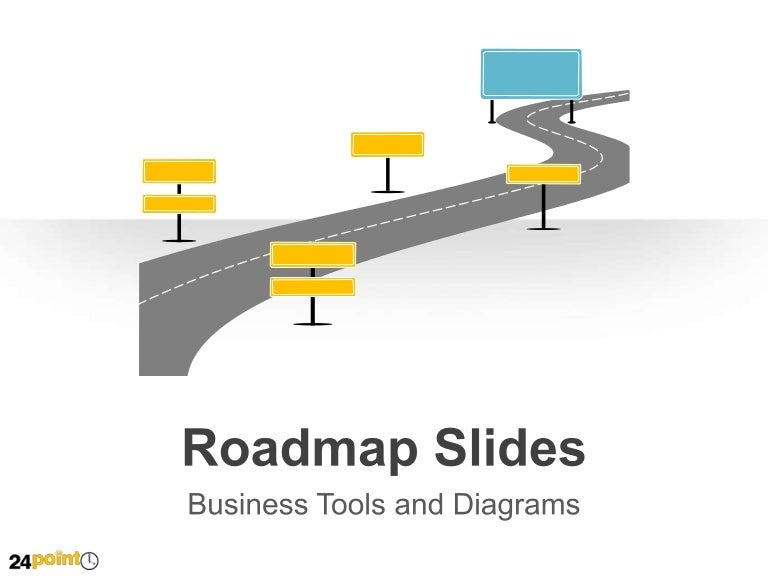 Roadmap Slides PowerPoint Business Templates