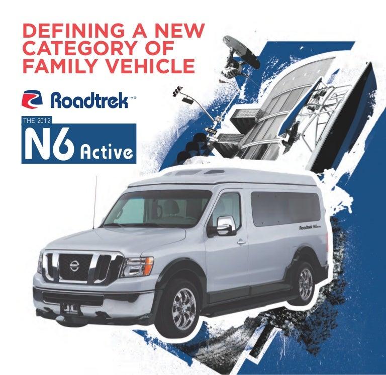 Roadtrek N6 Active 2013 Brochure