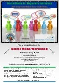 Roanoke Social Media Workshop for Beginners, January 26, 2011