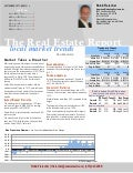 Market Takes a Breather - Real Estate Report September/October