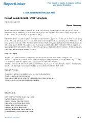 SWOT Analysis: Stanley Black and Decker, Inc.