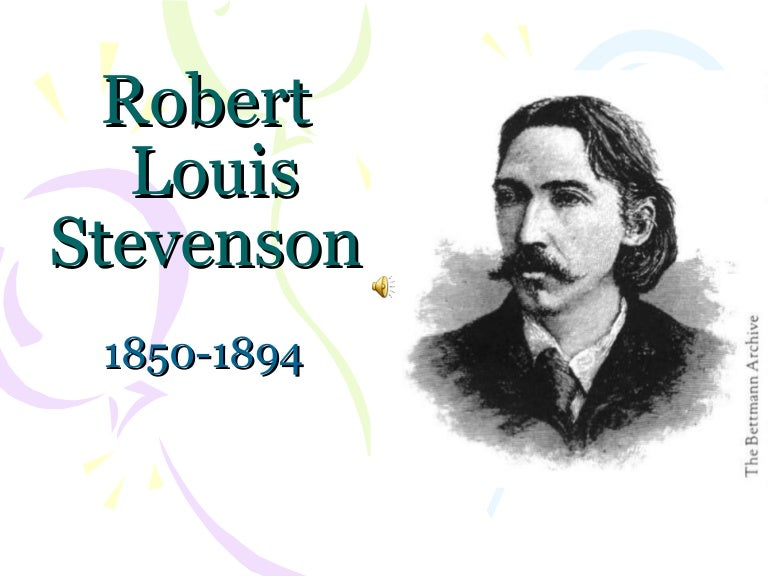 discuss how robert louis stevenson explores Included here are selections from a child's garden of verses, a collection of poetry by robert louis stevenson originally published in 1900 source: stevenson, rl (1913.