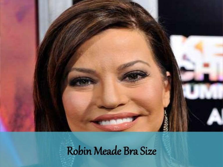 Robin Meade Bra Size