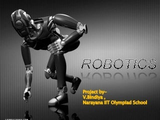 Robotics project ppt