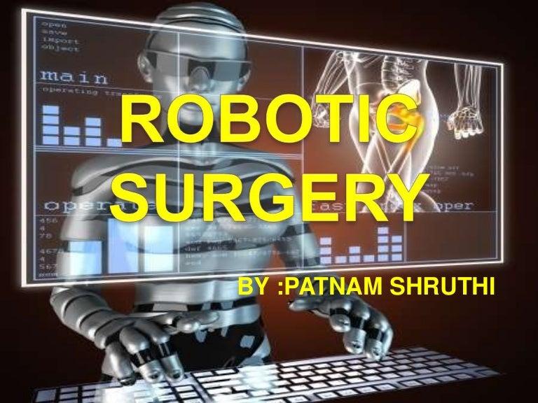Robotic surgery seminar ppt power point presentation |authorstream.