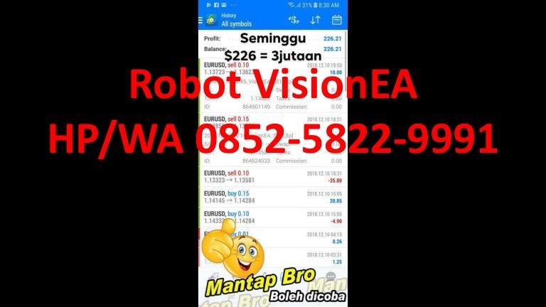 Robot Forex Profit Konsisten Probarsar BisnisForex : u/detikn