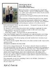 Testimonial Rob & Patricia Taylor