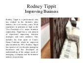 Rodney Tippit  Improving Business