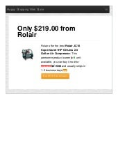 Rolair offer the best jc10 super quiet 1hp oil less 2 only 21900 reviews