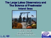 The Role of the Large Lakes Observatory in Studying Great Lakes: Past and Future