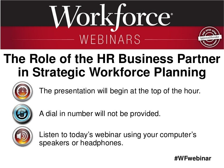 business strategy and workforce planning
