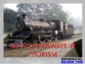 Role of Railways in Tourism