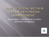 Repusurance | Role of social media in online reputation management