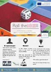 Roll the Dice II Training Course - Infopack