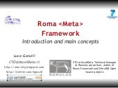Roma introduction and concepts