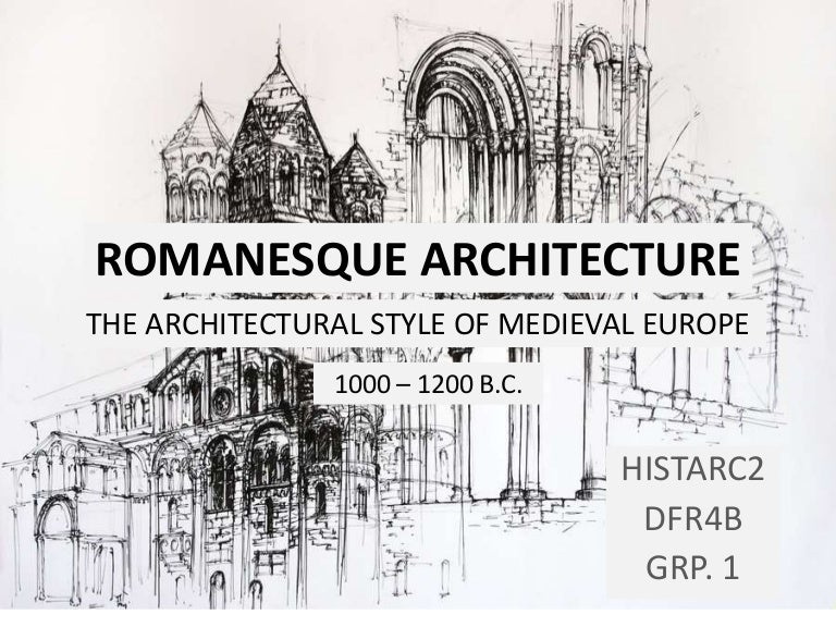 history  romanesque architecture