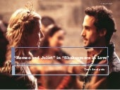 """Romeo and Juliet"" in ""Shakespeare in Love"""