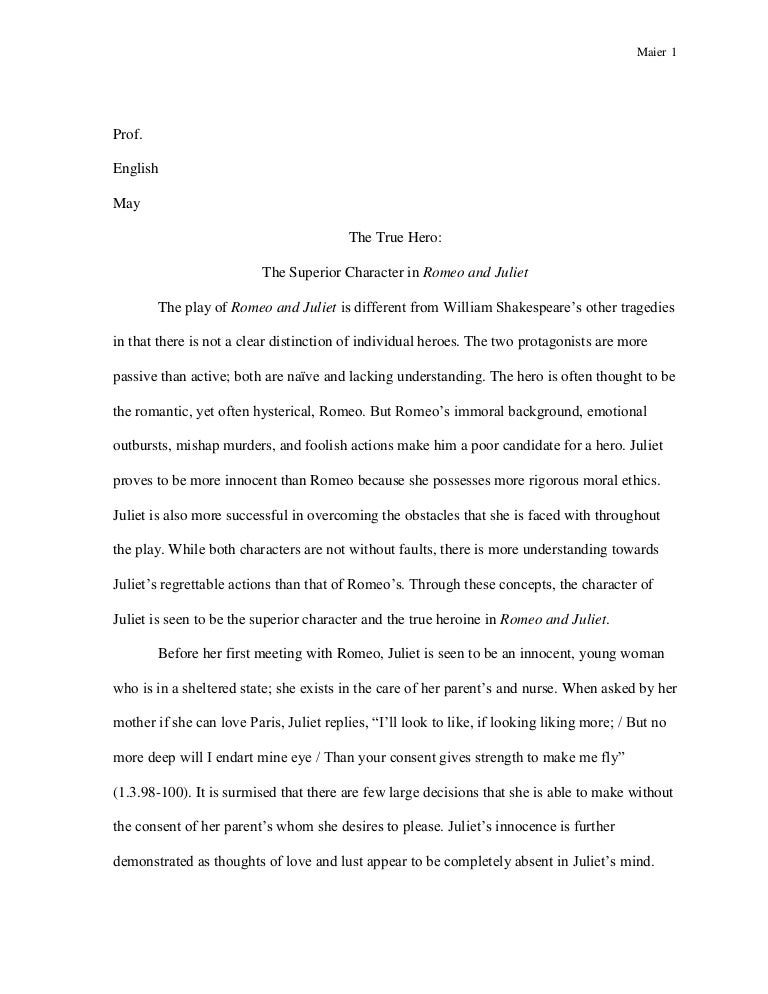 Romeo and juliet paper admission papers for sale 10th