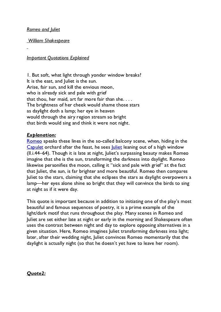 Essay Explaining A Quote
