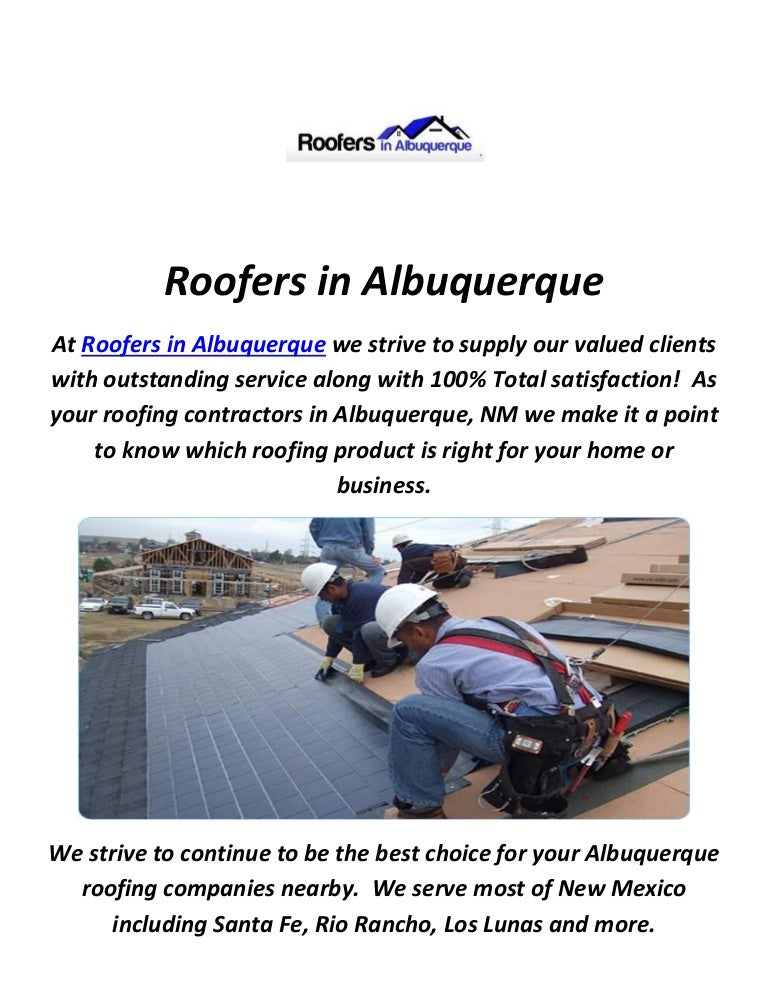 sc 1 st  SlideShare & Roofers in Albuquerque NM memphite.com