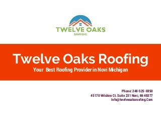 Roofing Companies in Novi, Michigan