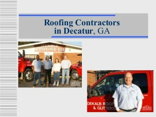 Roofing Contractors in Decatur, GA