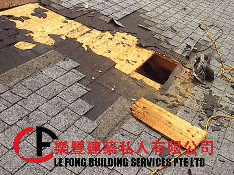 Roof Repair Singapore Lefong Sg