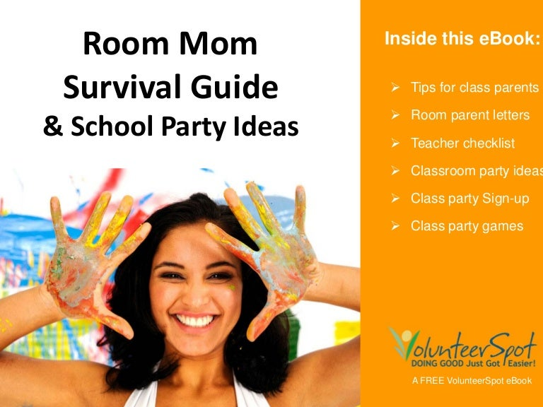 room mom survival guide school party ideas